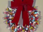Candy Christmas Wreath Video